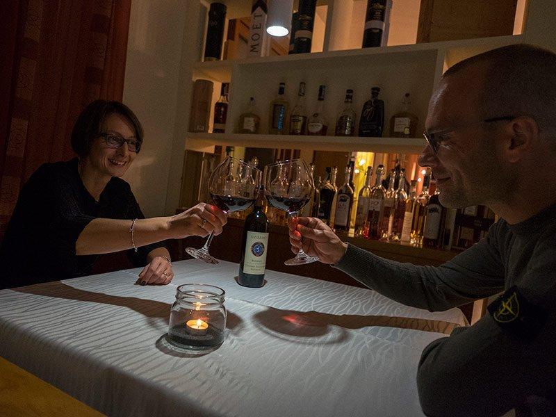 La cena di San Valentino al Ristorante Milleluci – Rubbio – Rübel