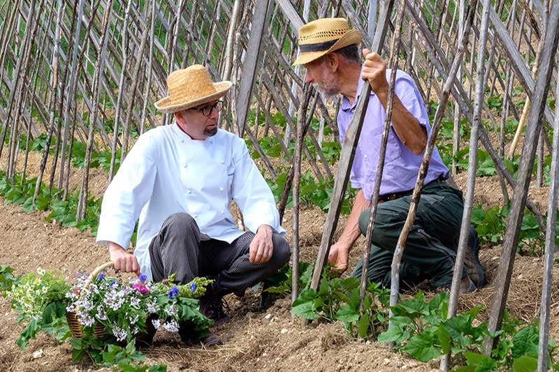 chef Riccardo Cunico e Antonio Cantele